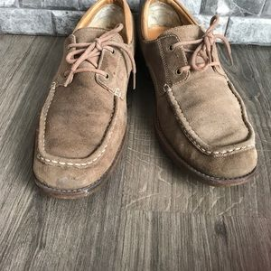 UGG Shoes - UGG Australia Men's Via Pitti Suede Oxfords tan 11